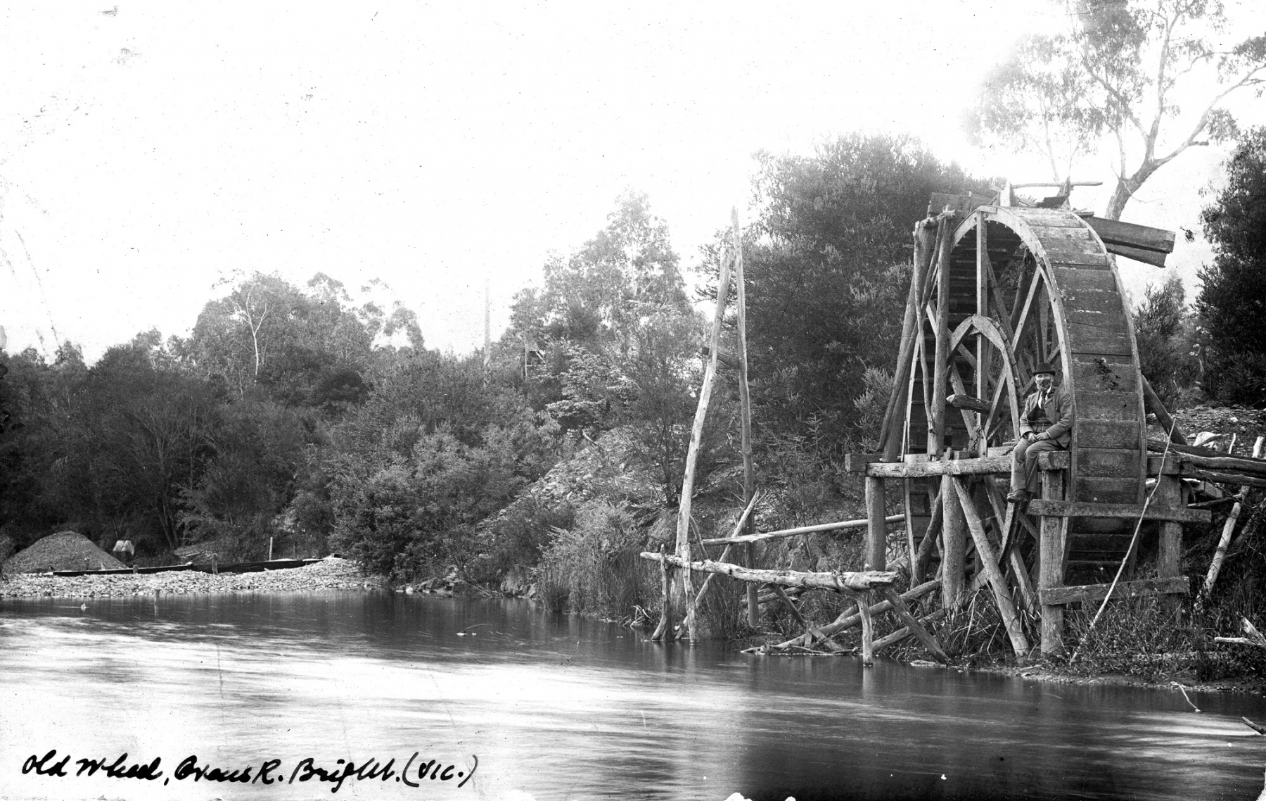 Water Wheel Ovens River